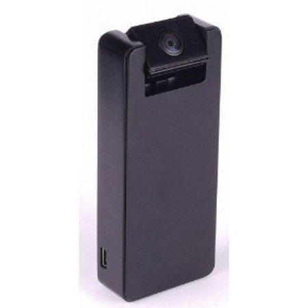 Mini camara espia HD 720p con lente basculante. Angulo de vision 160º. Activacion por