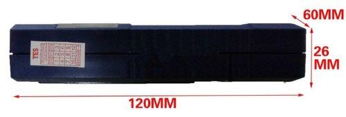 Contact sensing pinless style Wood fiber Moisture Meter