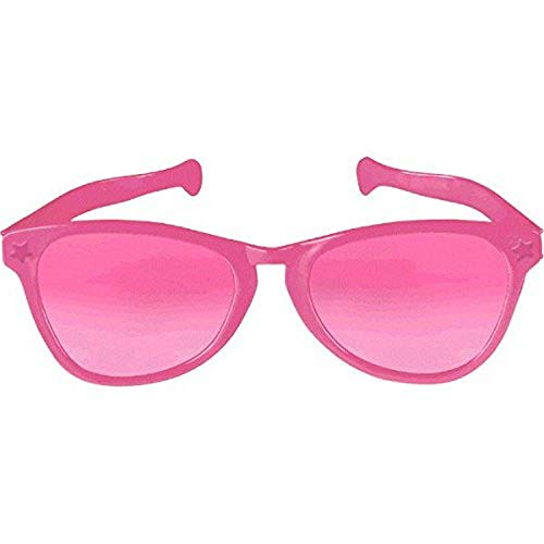 Pink Jumbo Eyeglasses, Party Accessory