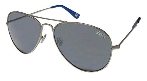 Superdry Sds Huntsman Mens/Womens Aviator Full-rim 100% UVA & UVB Lenses Sunglasses/Sun Glasses (58-15-143, Matte - Womens Glasses Superdry
