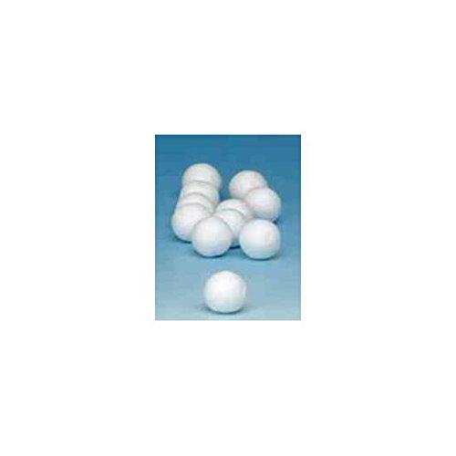 GLOREX Bola, para bastoncillos de algodón, Color Blanco, 11 x 14,5 ...