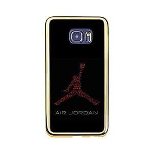 Luxurious Plastic Protector Samsung Galaxy S6 Edge +(Plus) Carcasa,Custom Michael Jordan Slim Back Phone Cover