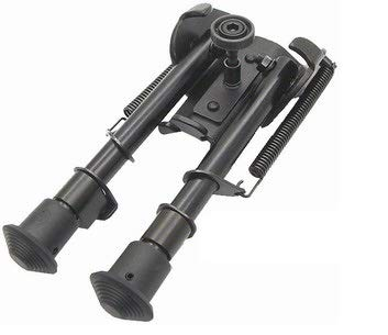 """Used, SRC Metal Tactical Adjustable Harris Type 6""""-9"""" Bi-pod for sale  Delivered anywhere in USA"""