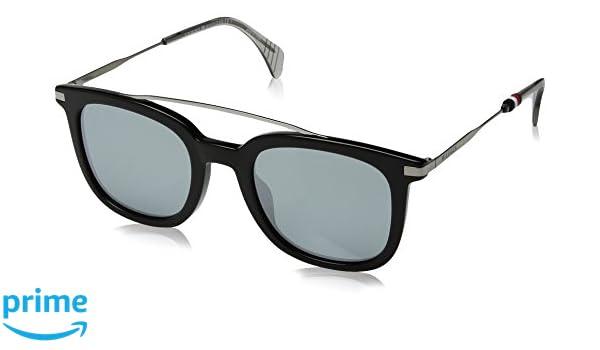 Tommy Hilfiger TH 1515/S T4 807 49, Gafas de Sol para Hombre, Negro (Black/Grey): Amazon.es: Ropa y accesorios