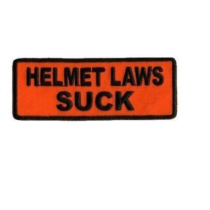 HELMET LAWS SUCK PATCH -