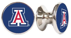 Arizona Wildcats NCAA Stainless Steel Cabinet Knob/Drawer Pull ()