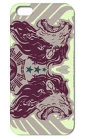 Fashion The Lion Pattern Protective Hard Case Cover For iPhone ipod touch4 #004