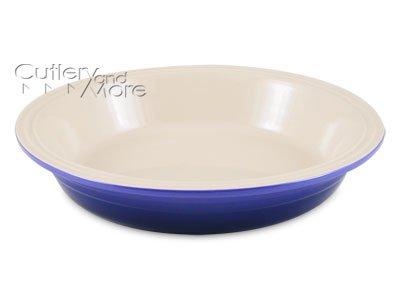 Le Creuset Stoneware 10-Inch Pie Dish, Cobalt Blue
