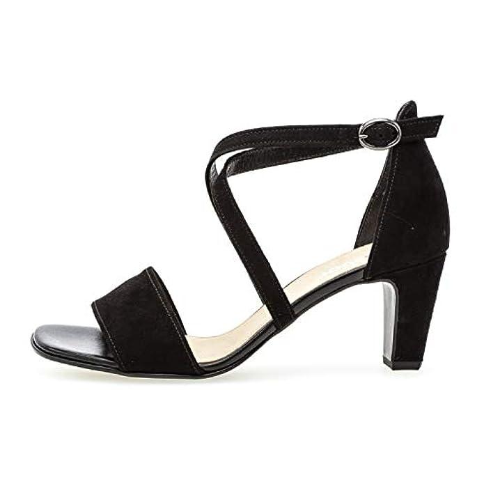 Gabor 21 861 Donna sandali Con Cinturini scarpe Di Estate confortevole piatta