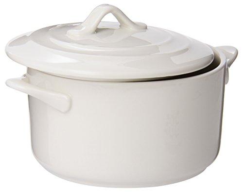 Maxwell and Williams 20.5-Ounce Basics Oven Chef Round Casserole, Mini, White