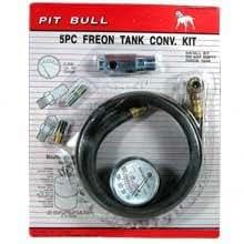 Five Piece Freon Tank Conversion Kit Taic 0292 05239