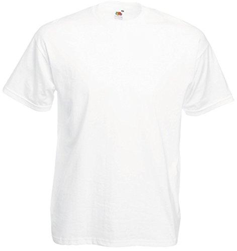 Bianco Loom Tee shirt Of Valueweight The Fruit T Uomo wq7AZf8x