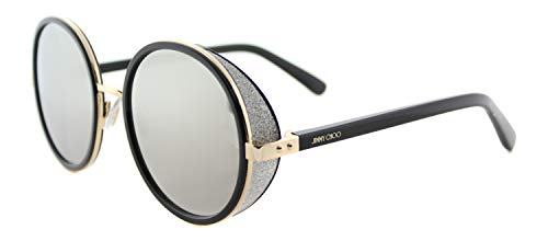 Jimmy Choo Women's Andie/S Rose Gold Shinny Black/Gray Silver Mirror from JIMMY CHOO