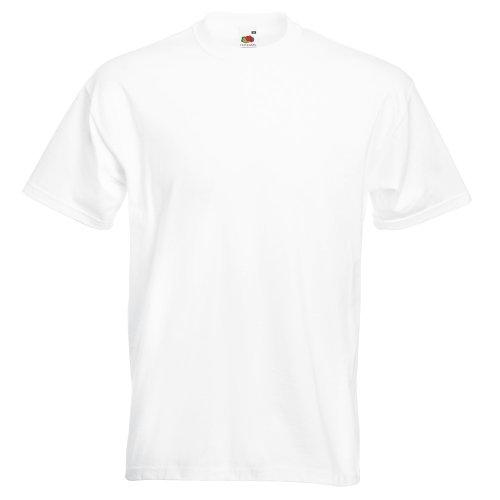 Fruit of the Loom - Heavy T-Shirt 'Super Premium T' L,White