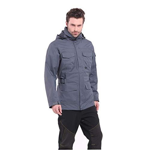 In Esterna Huifang Abbigliamento Che Gray Pezzi Pile Staccabile Uomo Alpinismo Cattura Giacca Da Sci Pesca Due n8qBU8x1wC