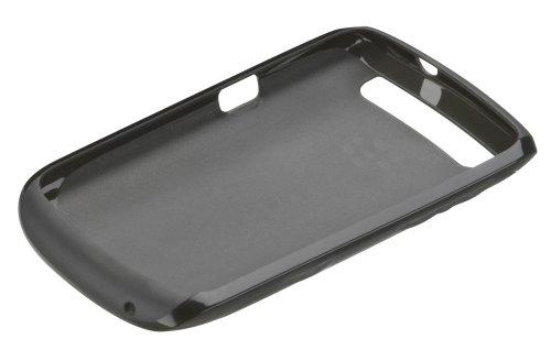 002 Rim Blackberry - Blackberry ASY-39071-002 Curve 9350/9360/9370 Soft Shell Translucent - 1 Pack - Non-Retail Packaging - Black