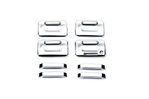 (Putco 401012 Chrome Trim Door Handle Cover)
