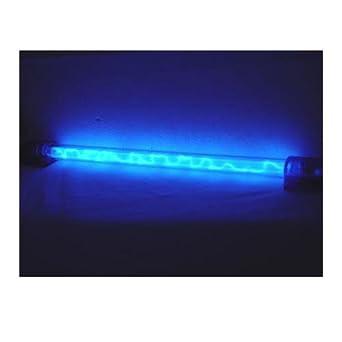 logisys blue liquid neon thunder pattern light led household light