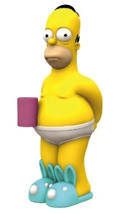 The Simpsons Homer 12-Inch Talking Bobble Bank