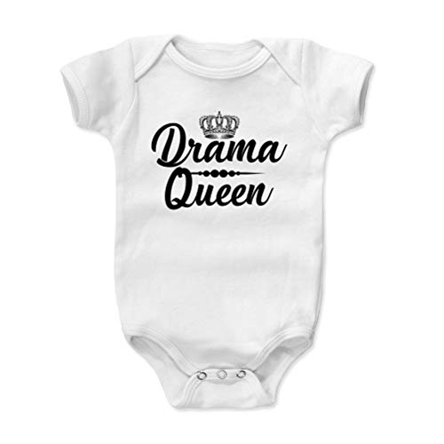 Bald Eagle Shirts Funny Actress Baby Clothes, Onesie, Creeper, Bodysuit - Drama Queen (White, 12-18 -