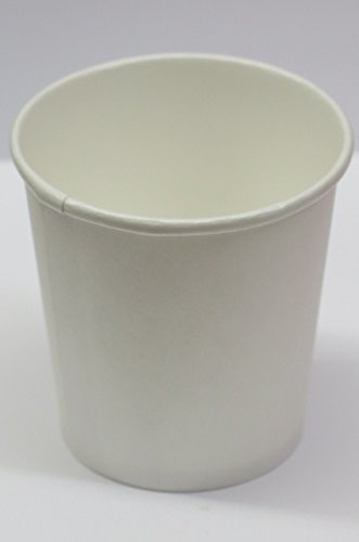 4 oz. White paper cups Espresso Cups 200 pack - plus 2 clip on cup hadles