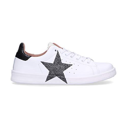Rubens Pelle Donna Bianco Dast121 Sneakers Nira bygf76