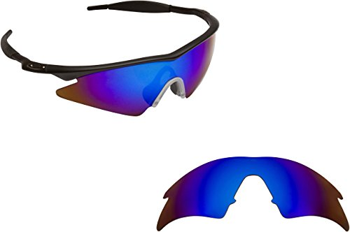 [New SEEK OPTICS Replacement Lenses Oakley M FRAME SWEEP - Polarized Blue Mirror] (Oakley Frame Replacement Lenses)