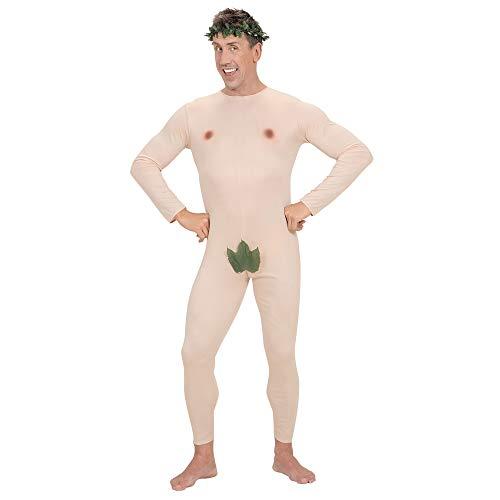 Mens Adam & Eve Jumpsuit & Headpiece Costume Medium For Tv Adverts & ()