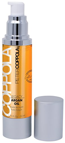 (Peter Coppola Argan Oil (1.7oz) Anti Frizz Treatment Serum for Smoothing and Softening for All Hair Types. Adds Shine and Block Humidity. )