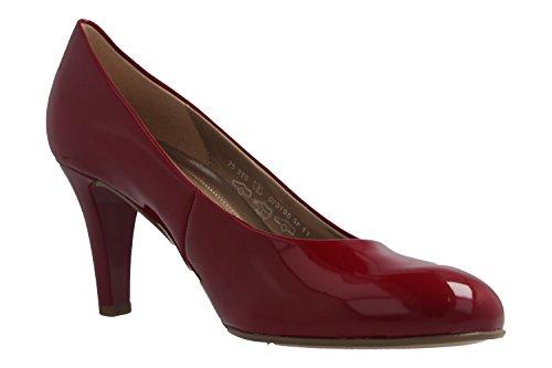 Schuhe Übergrößen Damen Lack in Gabor Rot Rot Pumps vYIfwxA