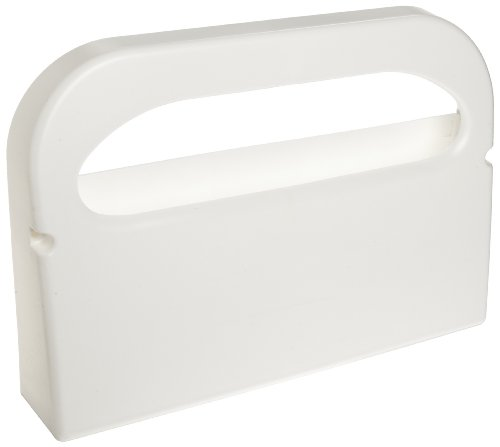 Cover Dispenser - Hospeco HG-1-2Health Gards Half-Fold Plastic Wall Mounted Toilet Seat Cover Dispenser, White