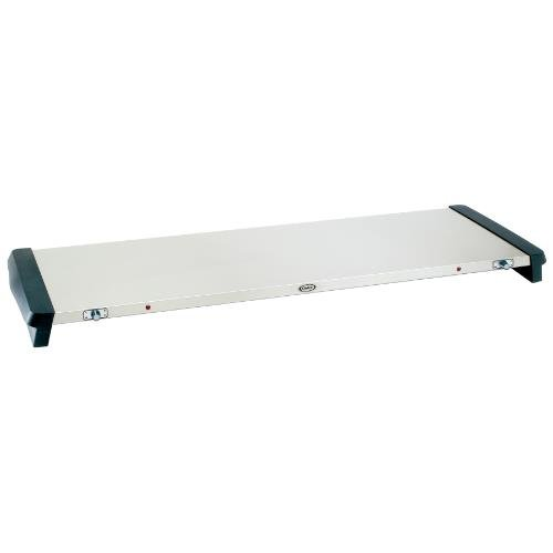Cadco Stainless Large Countertop Warming Tray, 46 x 2 1/4 x 15 1/4 inch -- 1 each.