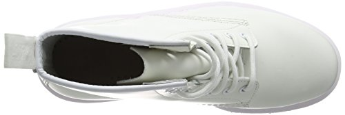 Unisex Dr Martens Monochrome Smooth Dr Martens Stivali 1460 Unisex White Uomo wq6rqgI