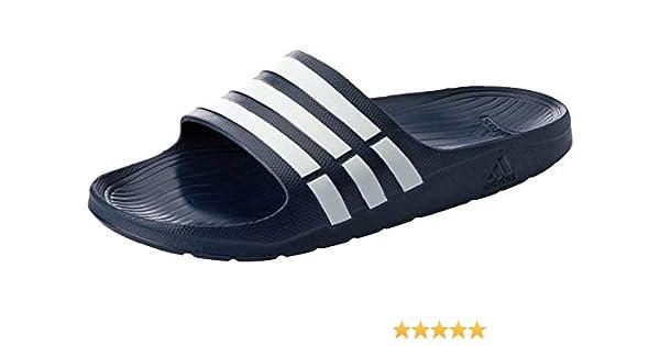 1bf48b0a43f18 adidas Unisex Adult Duramo Slide Open Toe Sandals