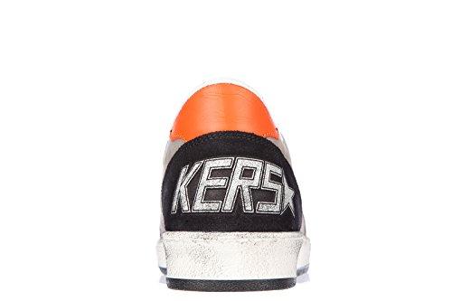 Golden Goose zapatos zapatillas de deporte hombres en piel nuevo ball star gris
