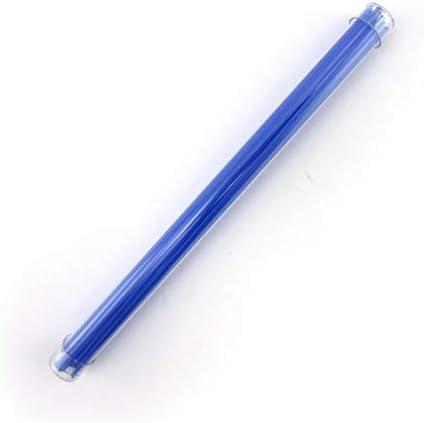 Cobalt Blue Opalescent Stringer Sample S-0114-BE Bullseye Glass Stringer Sample Size
