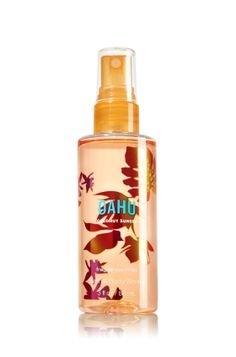 Mist Splash Spray (Bath and Body Works Oahu Coconut Sunset Fragrance Mist Spray Splash Mini Travel Size 3 Ounce)