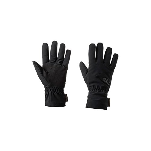 Jack Wolfskin Storm Lock High Loft Gloves, Small, Black