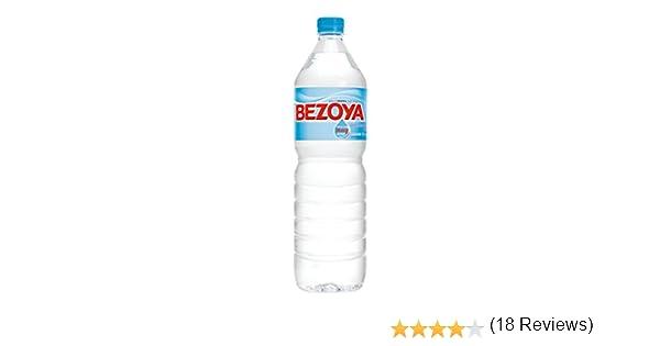 Bezoya - Agua Mineral Natural Botella 1.5 L: Amazon.es: Alimentación y bebidas