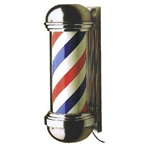 BR Beauty PIBBS Original Salon Barber Pole W Light Model 148