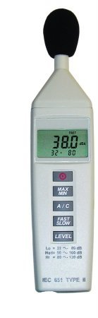 General Tools DSM325 Digital Sound Meter, Mini by General Tools
