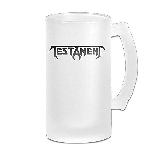 Price comparison product image Testament Band Logo Grind Beer Glass Mug White