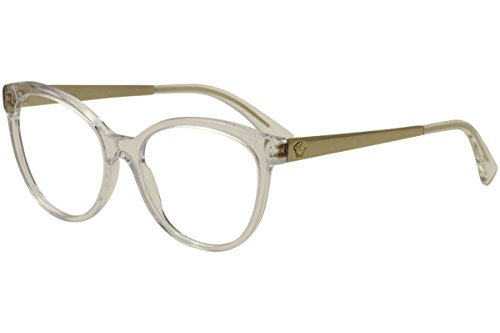 Versace Women's VE3237 Eyeglasses Trasparent - Glasses Clear Versace