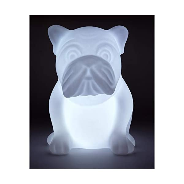 Bigben Sound btlsdog - Enceinte Wireless en Forme de Bulldog (Bluetooth, MP3, USB) Multicolore 2