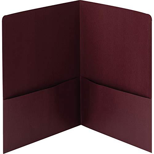 Smead 87947 Lin 2-Pocket Folders, 9-3/4