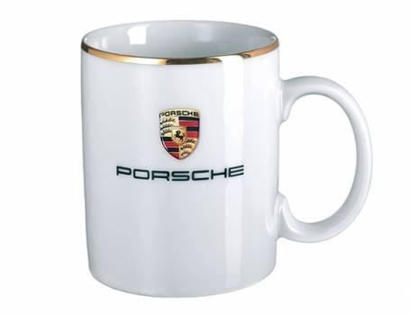 (Genuine Porsche Crest Mug)