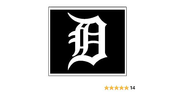 Detroit Tigers Black Sports Teams Automotive Decal//Bumper Sticker