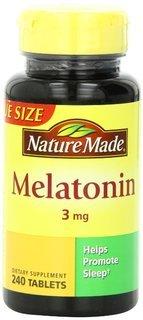Nature Made Melatonin Tablets, 3 Mg,