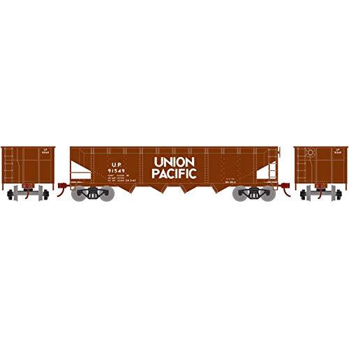 Offset Hopper w Coal Load UP #91549 ()
