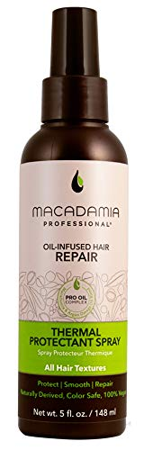 Macadamia Professional Thermal Protectant Spray - 5 oz. - All Hair Textures - Protection up to 450°F - Sulfate, Gluten & Paraben Free, Safe for Color-Treated Hair